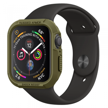 ỐP SPIGEN RUGGED ARMOR APPLE WATCH SERIES 5 / 4 (40/44MM) - OLIVE GREEN