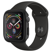 VỎ BẢO VỆ APPLE WATCH 44MM SPIGEN THIN FIT (ĐEN)