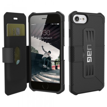 Bao Da iPhone 7 UAG Metropolis Series (Đen)