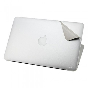 "Bộ miếng dán Macbook Air 11"" - 13"" JCPAL MacGuard Complete Protective Film Set (Bạc)"