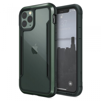 ỐP LƯNG IPHONE 11 PRO MAX X-DORIA DEFENSE SHIELD - MIDNIGHT GREEN