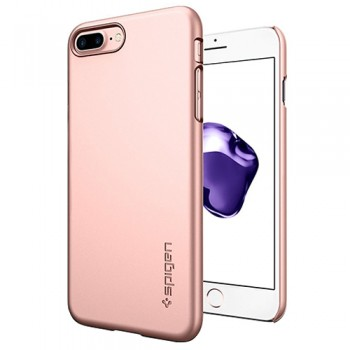 Ốp Lưng iPhone 7 Plus Spigen Thin Fit (Vàng Hồng)